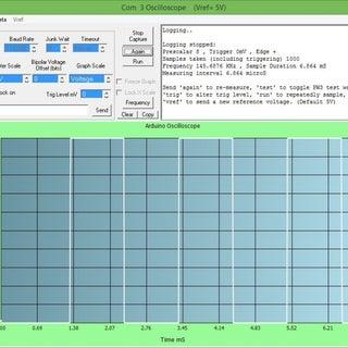 Arduino High Speed Oscilloscope With PC Interface