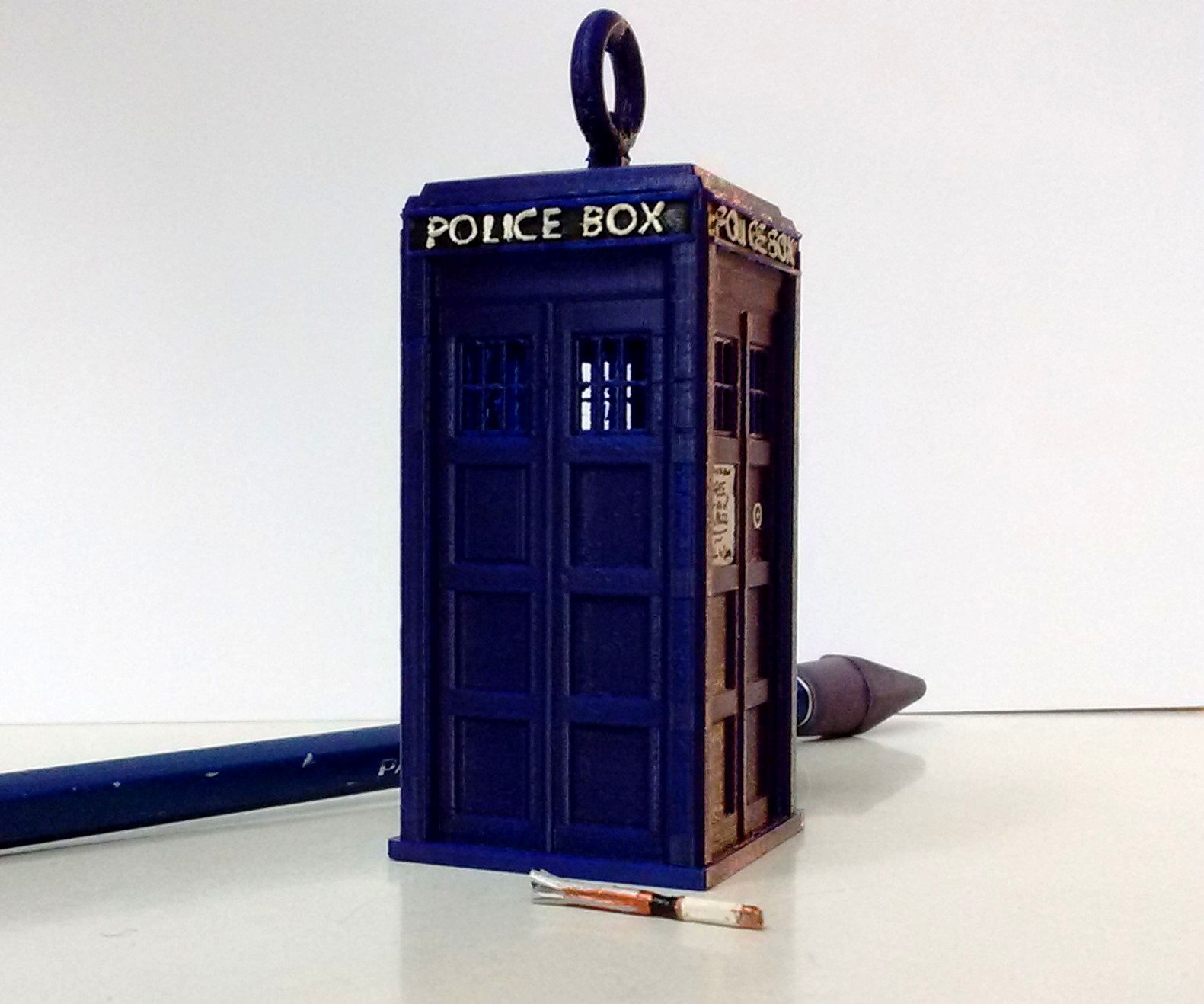 Sonic Screwdriver Out of a Toothpick (11th Doctor)