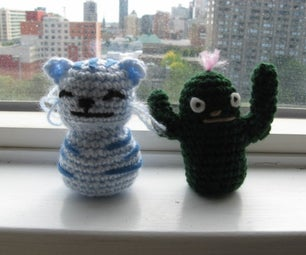 Cactus and Blue Baby Tiger