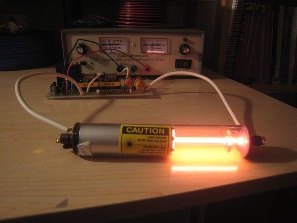 Childhood Laser: Building a HeNe Laser Kit