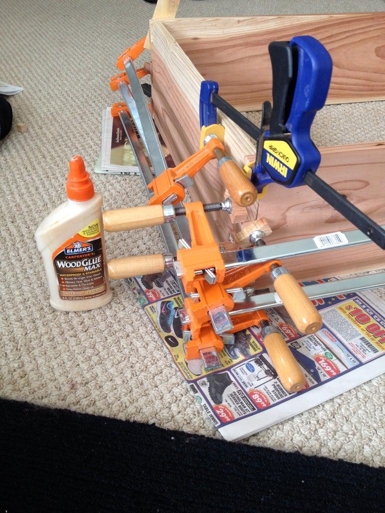 Glue, Clamp, Clean, Align, Dry, Repeat.