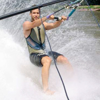 Barefoot Waterskiing