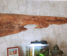 Large Driftwood Wall Feature