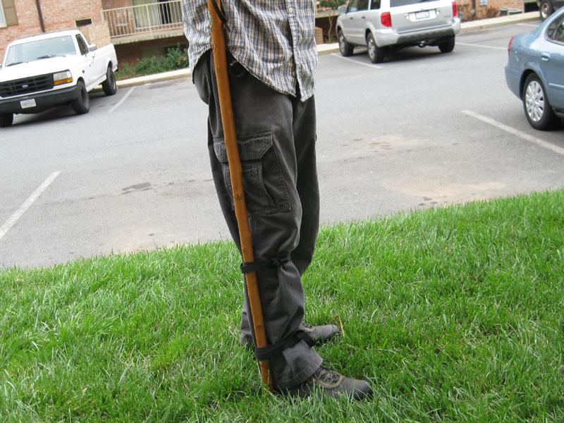 Hands Free Walking Stick