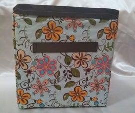 Foldable Fabric Storage Cube