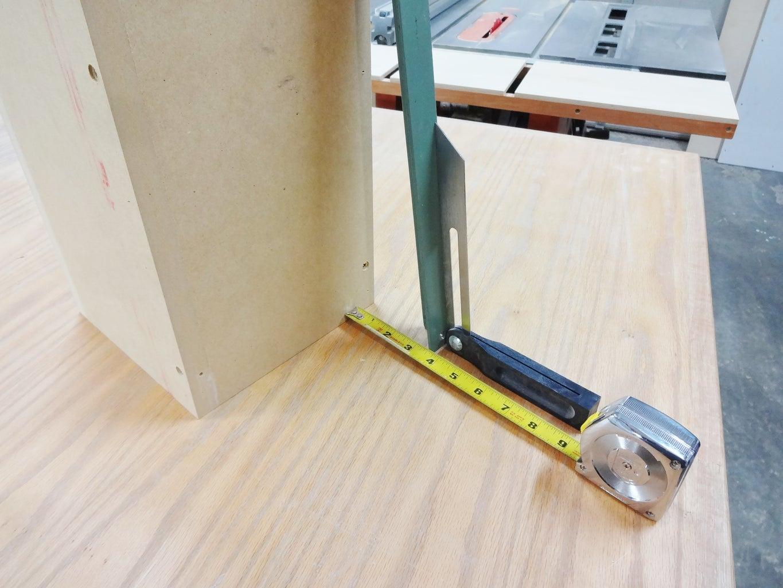 Angled Base for Form