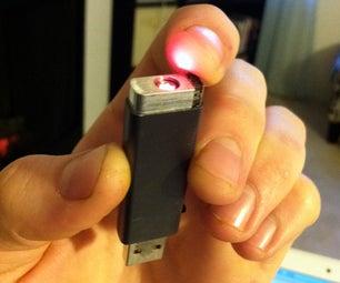 USB-Rechargable Laser Pointer