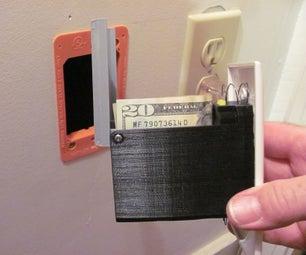 Phone Jack Secret Compartment