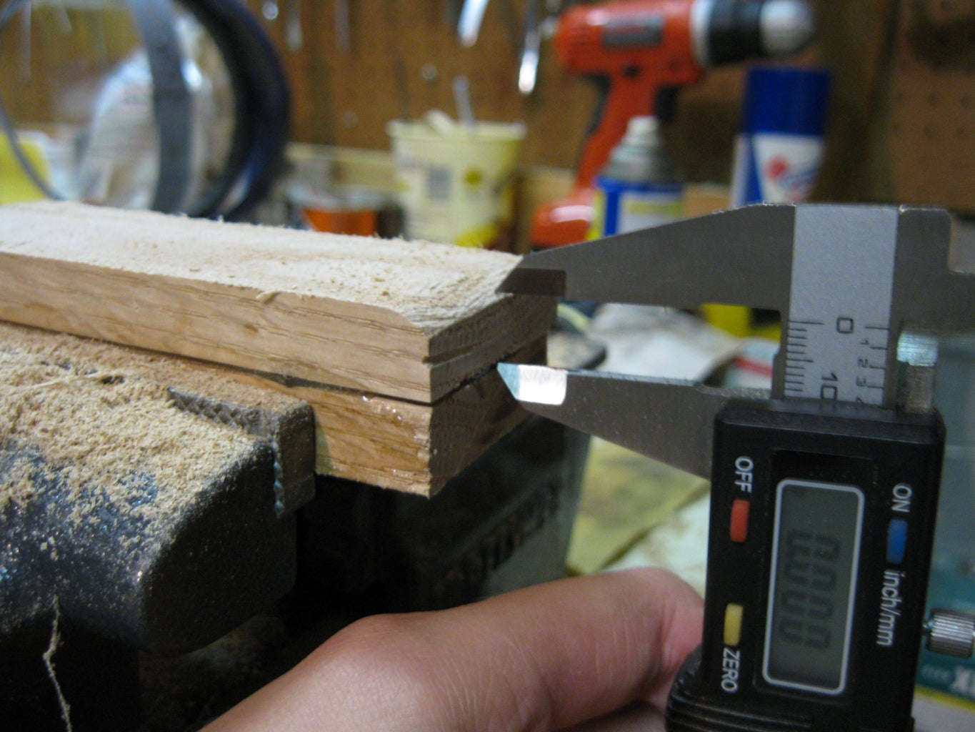 Making the Handle: Achving the Correct Thickness
