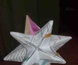 Modular Origami-star