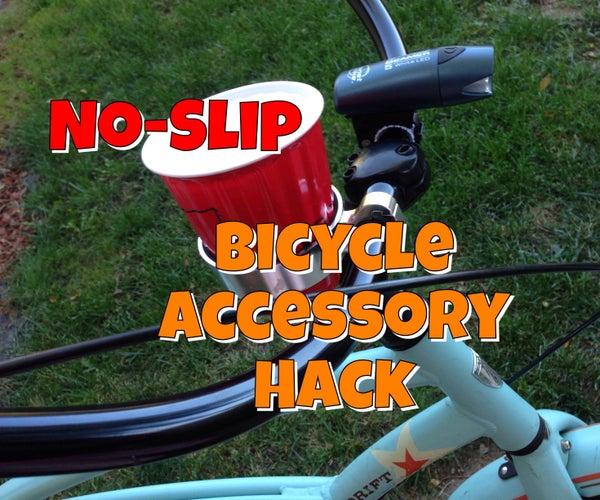 No-Slip Bicycle Accessory Hack