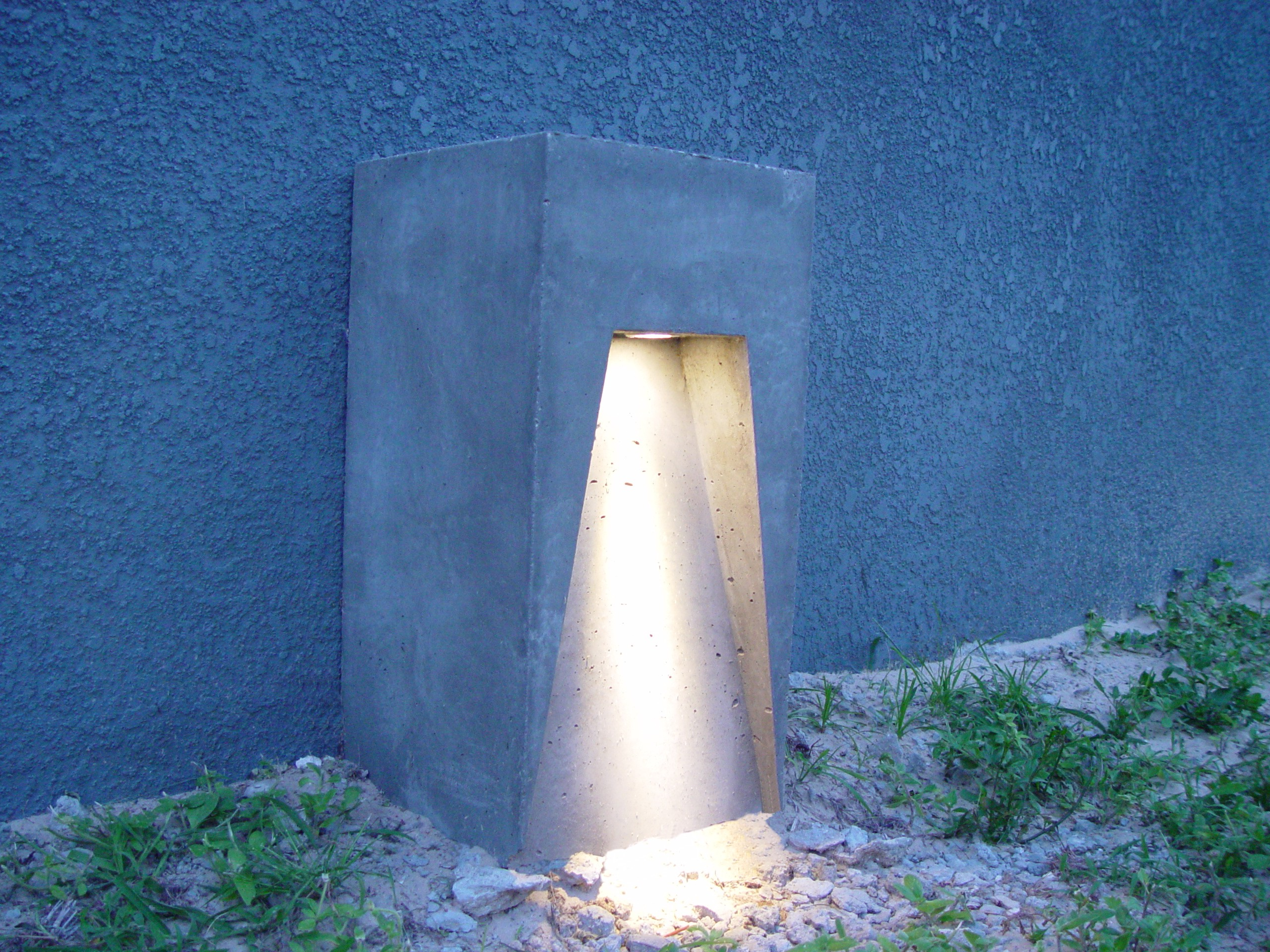 Concrete lighting