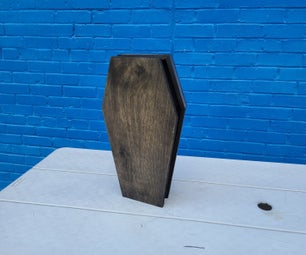 Decorative Prop Coffin
