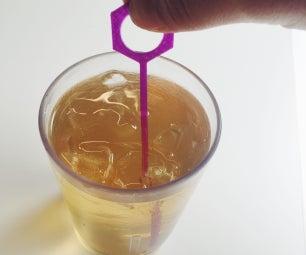 Design and 3D Print a Drink Stirrer