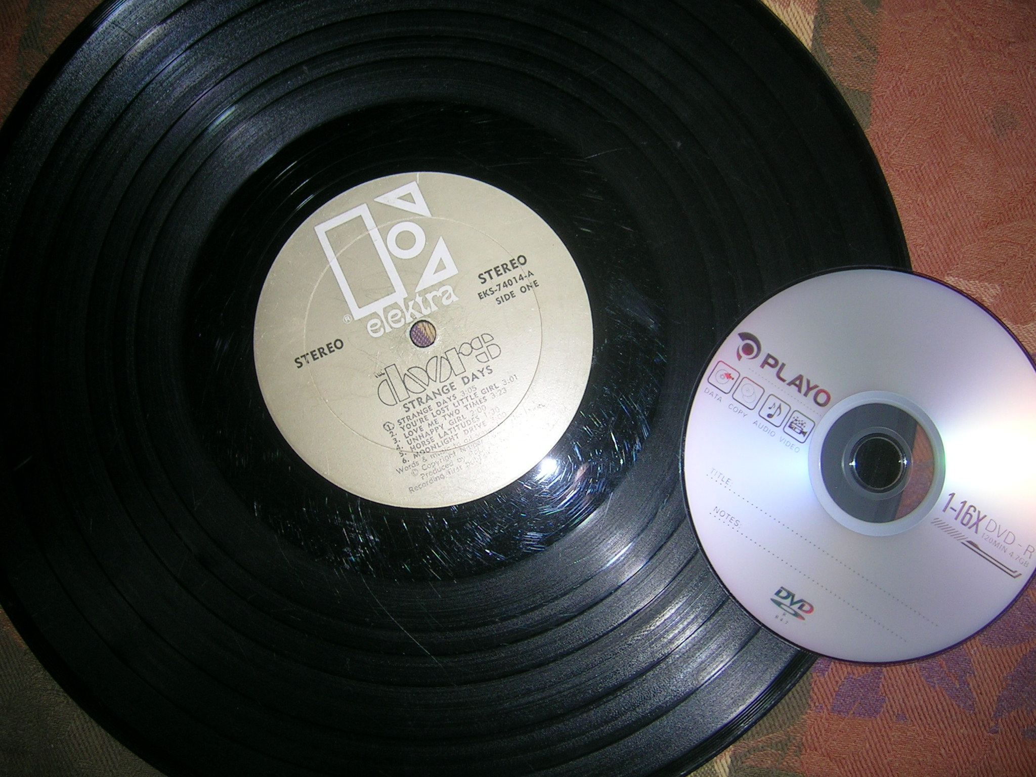 format old school records to mp3