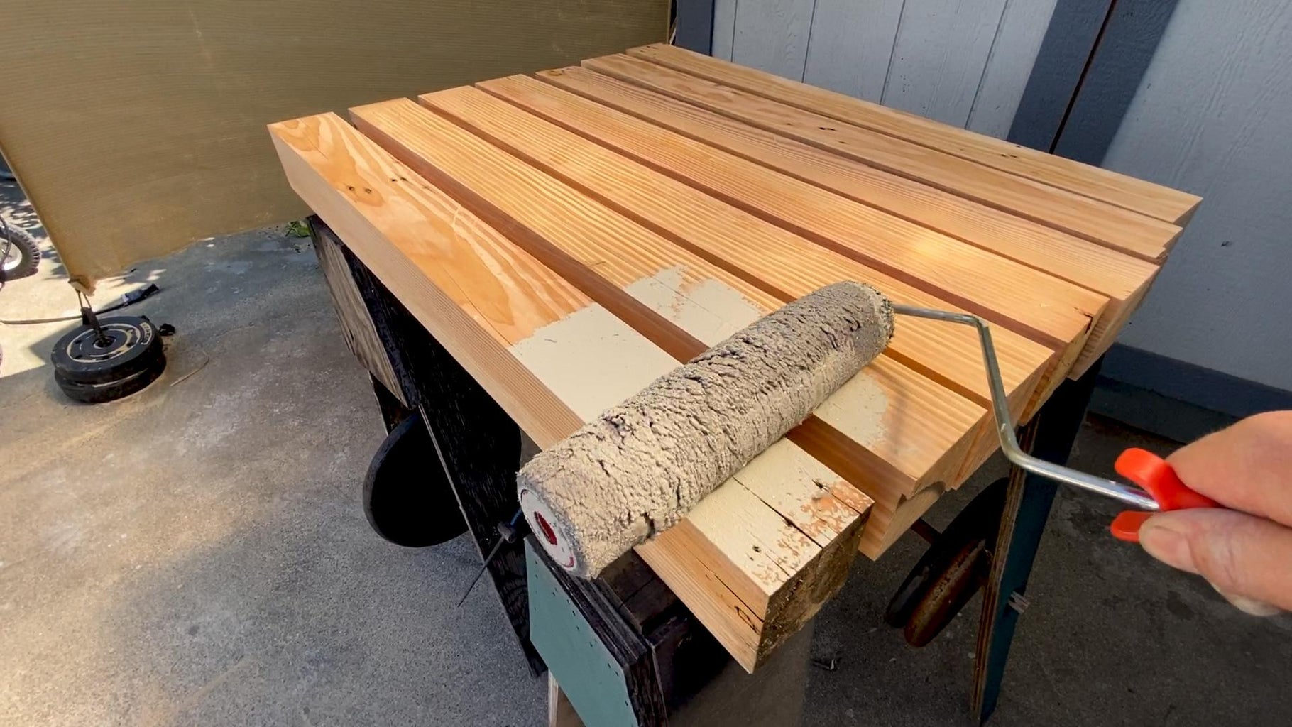 Paint the Lumber