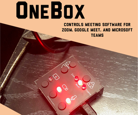 OneBox - Control Zoom, Meet, and Teams Online Meetings