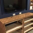 Rustic Pallet Wood Sofa Table