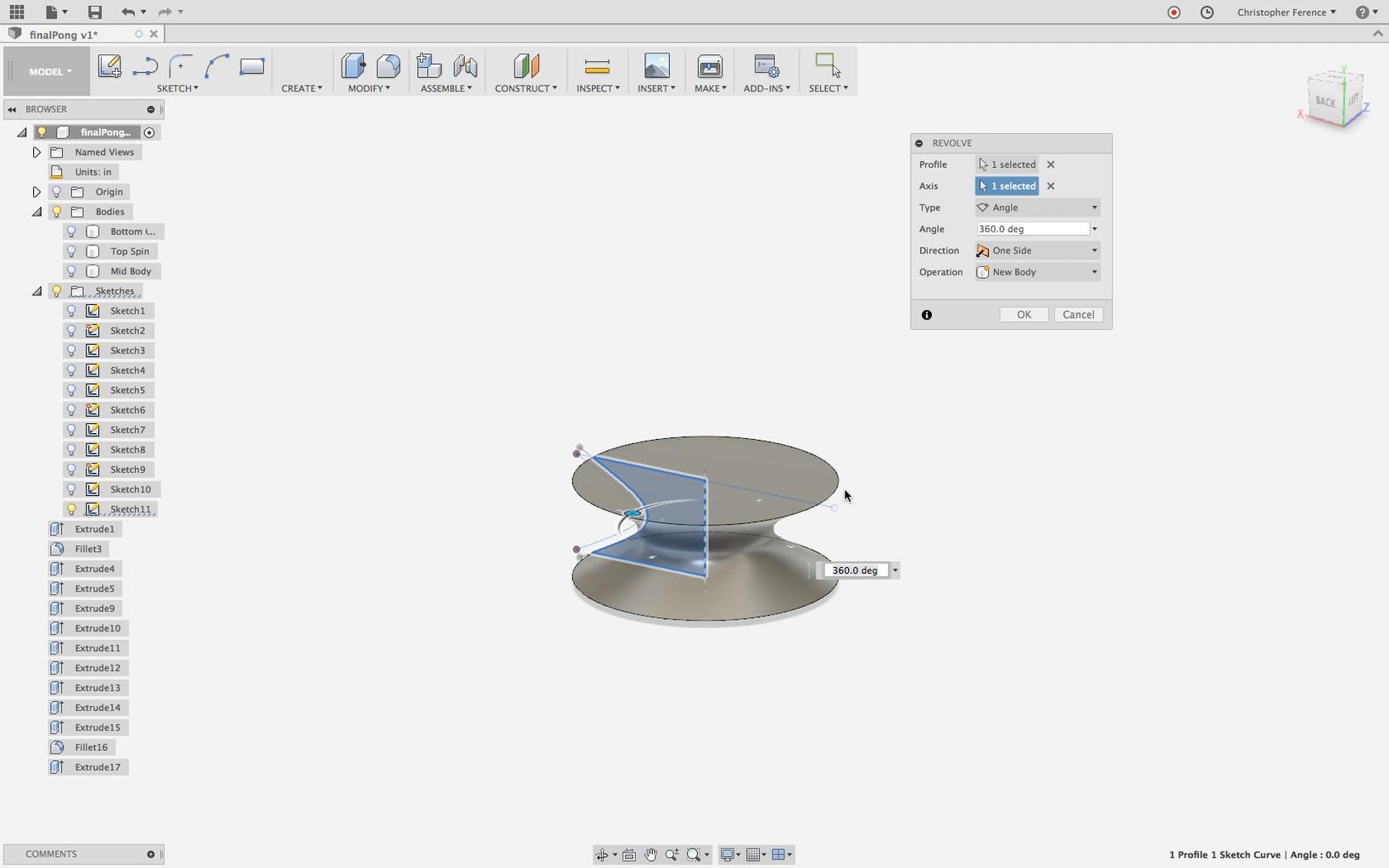 Design Spin Piece