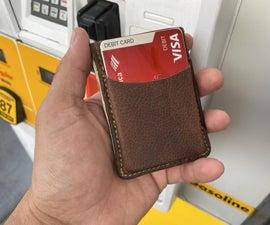 CNC Leather Wallet