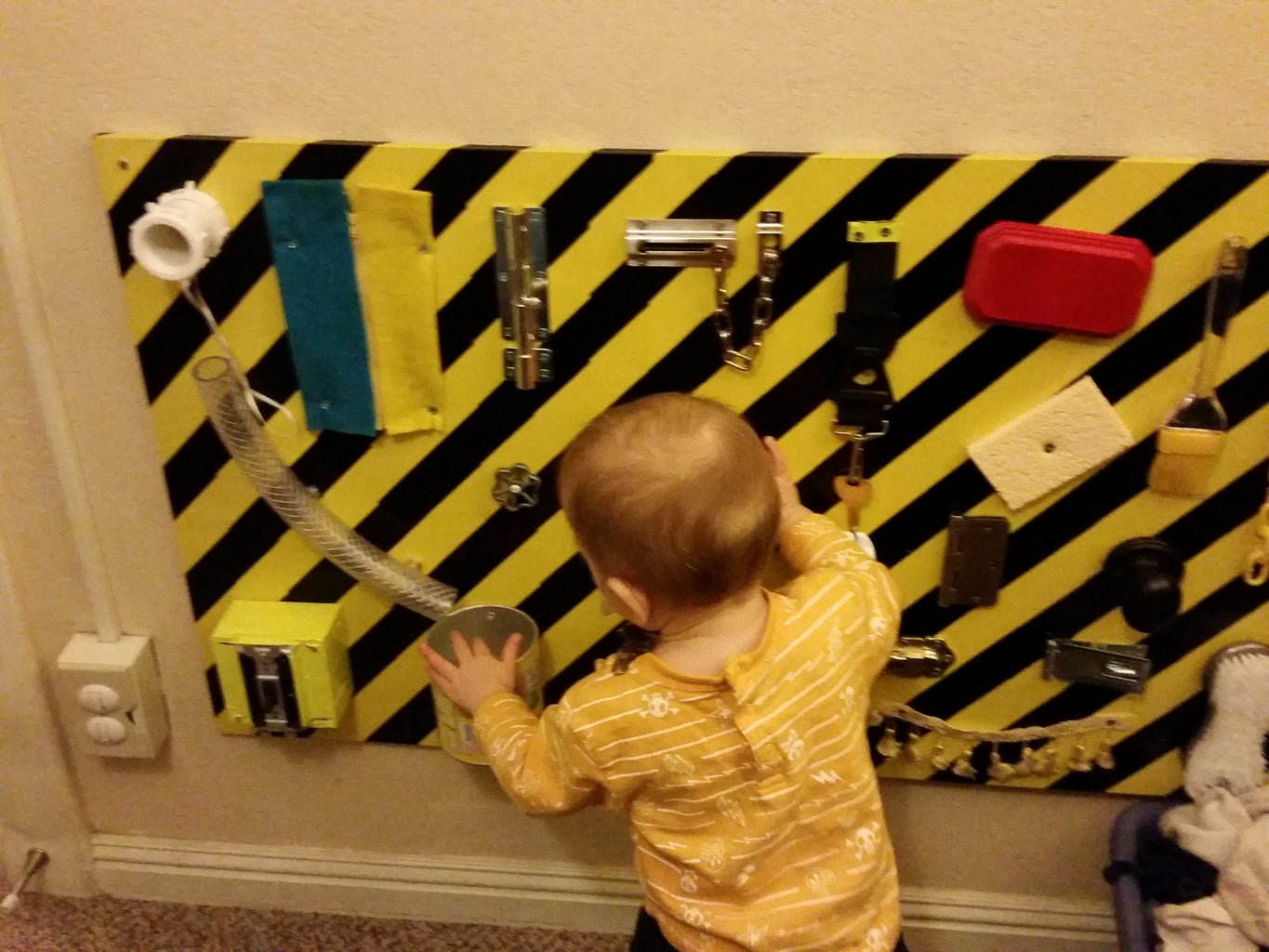 Busy Board for Toddlers