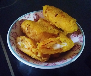Plantain Filled With Cheese - Aborrajado