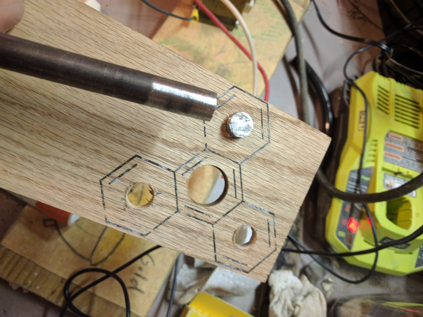Drill Holes and Add Weight