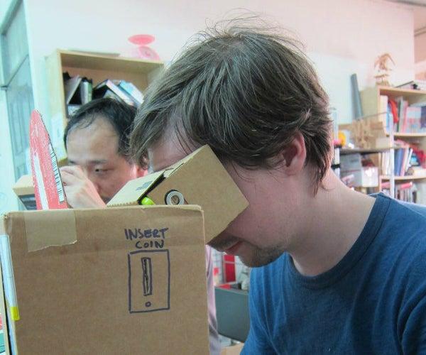 Virtual Reality Kinetoscope Parlor