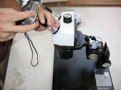 Take Digital Photos Through a Microscope Without Any Special Lens or Adapter