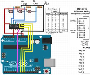 Analog Multiplexer Demultiplexer MC14051B Basic Introduciton