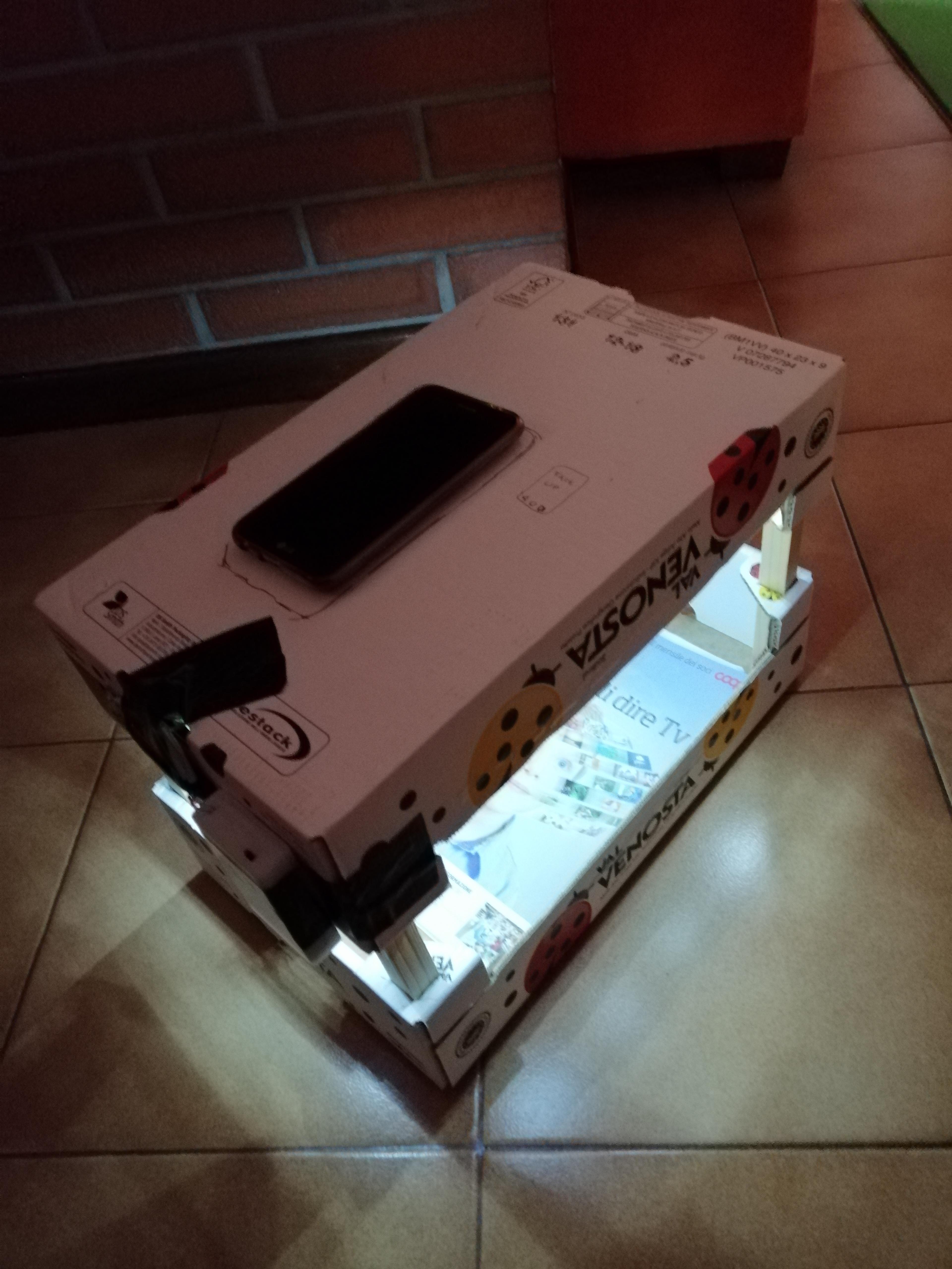 Cognac Box Large Format Scanner