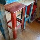 Make a Stool Out of a Found Pallet