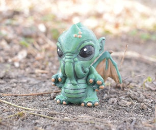Making of the Baby Cthulhu