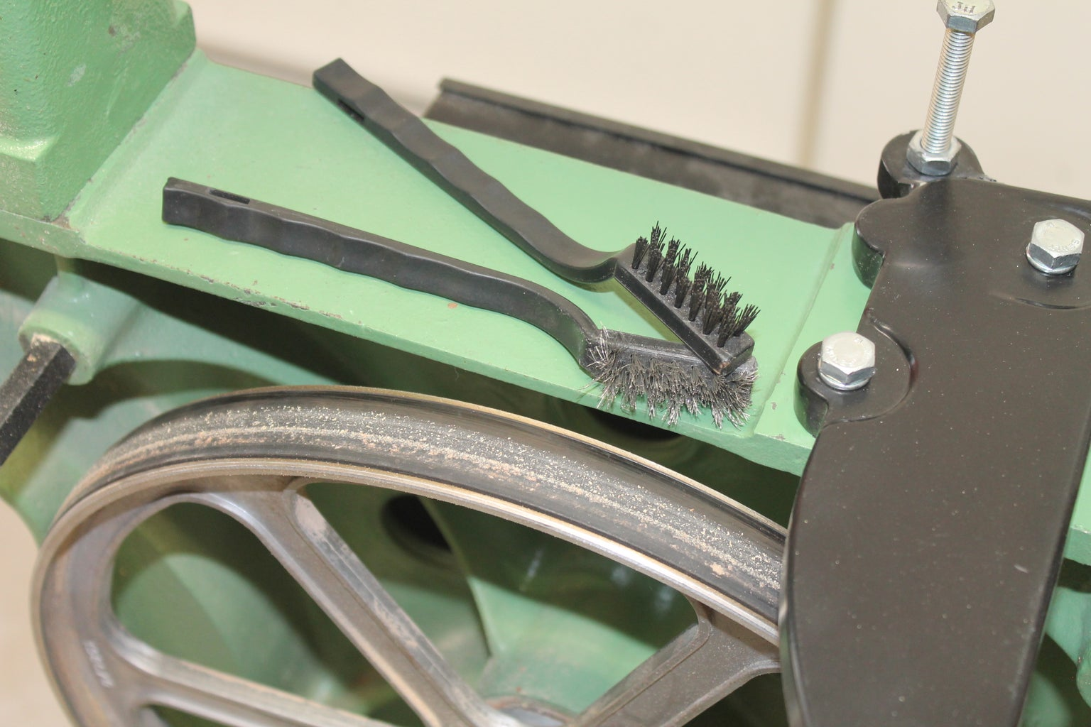 Maintenance Mode: Table Trunions and Clean Wheels