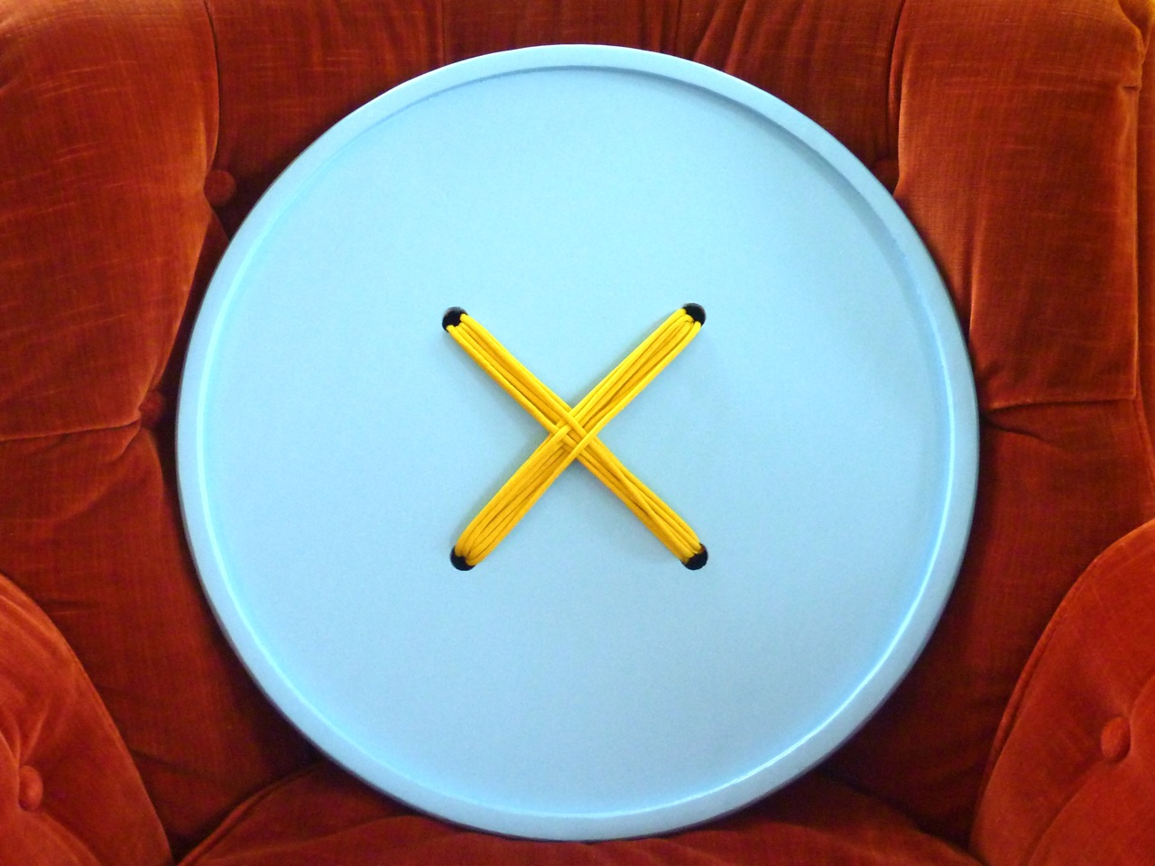 Giant button - a nice handmade gift for crafters