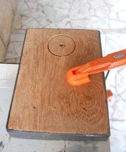 Drill Wood Block