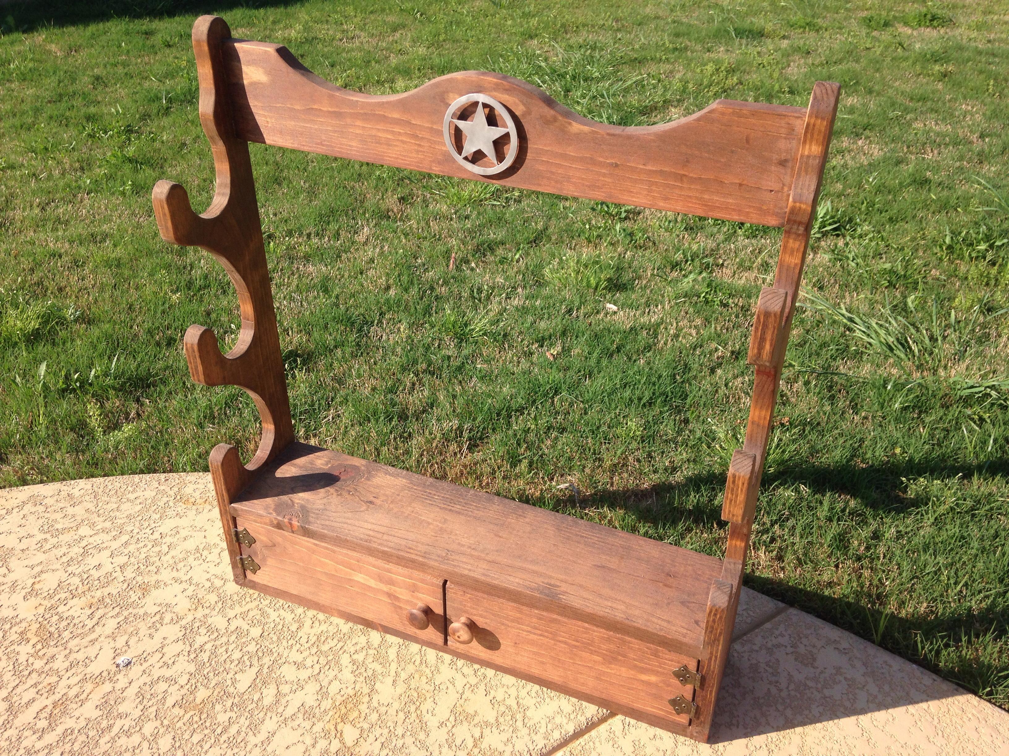 Wooden Gun Rack