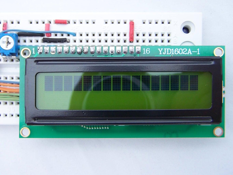 Adding the LCD Module