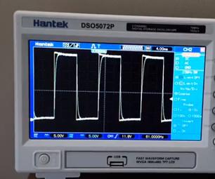 Autonomous Robot Project -  Make a Test Aide - Square Wave Generator
