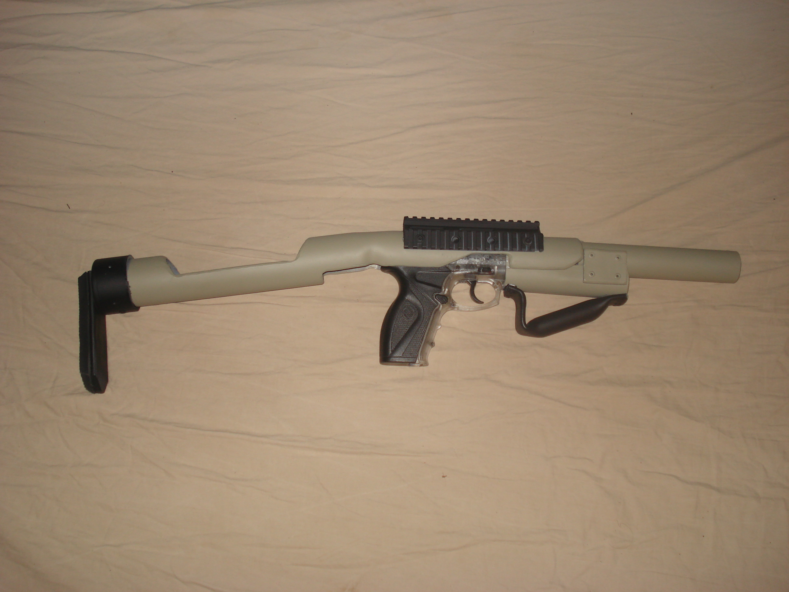 Making an Airsoft Close-Quarters Carbine
