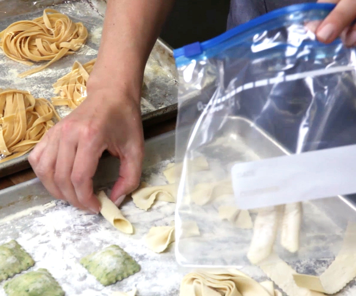How To Keep Store Fresh Pasta 3 Steps Instructables