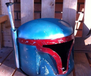 Boba Fett Wood Burning Stove