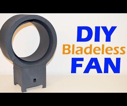 How to Make a Bladeless Fan - DIY Homemade Silent Fan