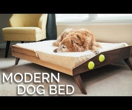 Easy to Make Modern Dog Bed