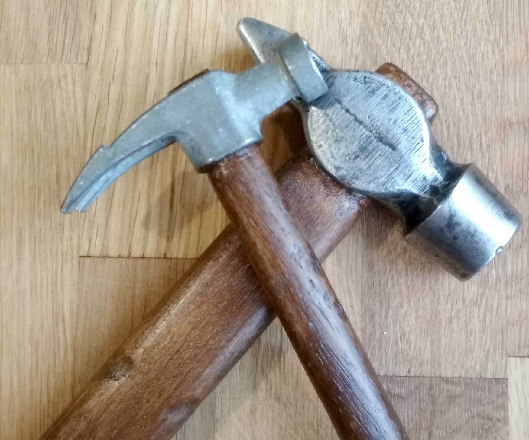 New Handles for Two Hammers