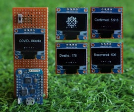 Track COVID-19 Outbreak by ESP8266