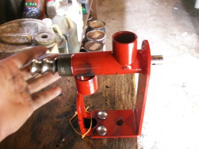 Step Two: Putting Together a Seed/Nut Oil Extractor