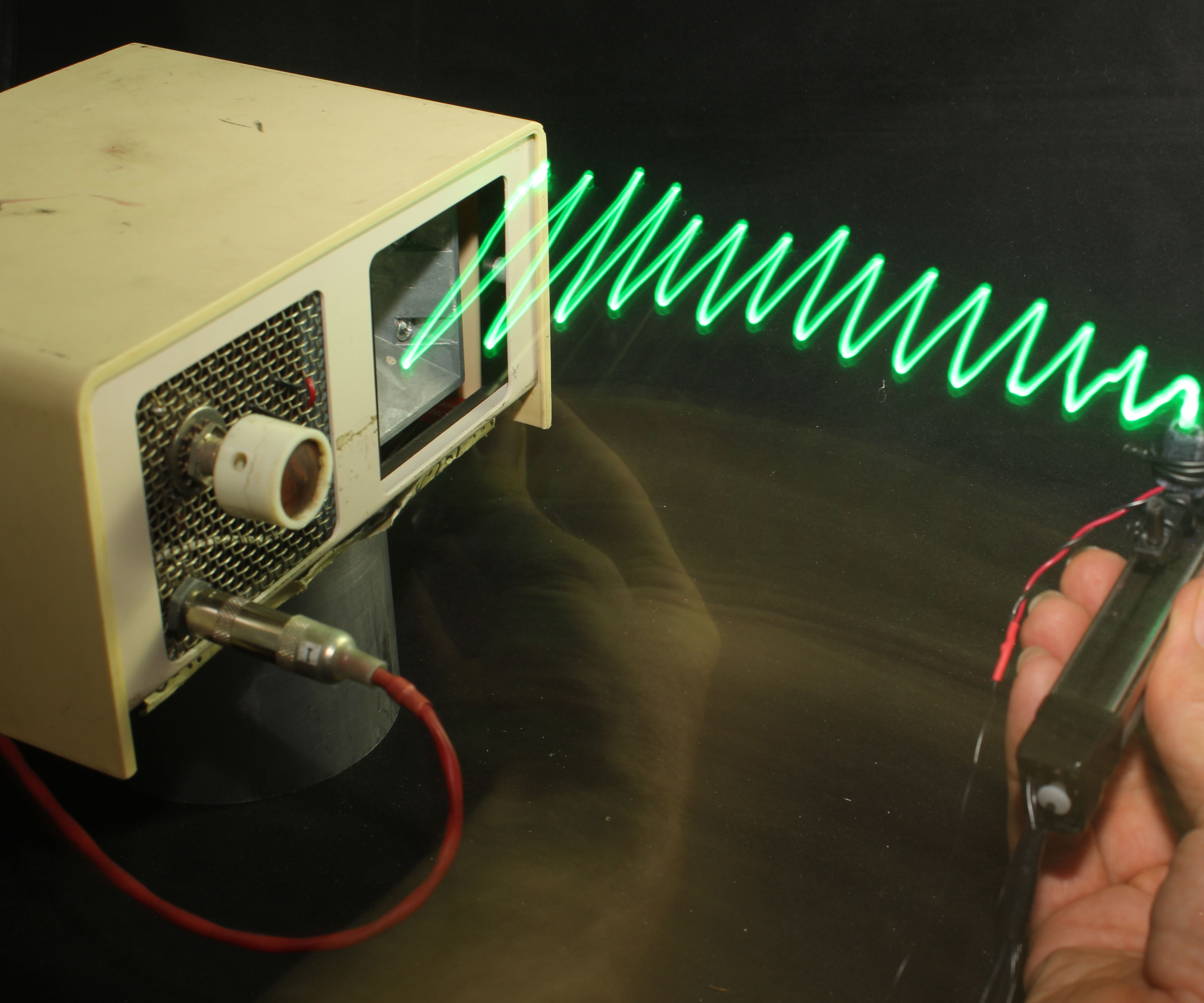Tactile Sequential Wave Imprinting Machine