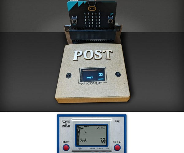 Micro:bit OLED Game
