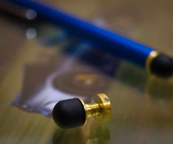 IPad Stylus Tip - (How to Turn Small Parts on a Jet Lathe), I Made This at Tech Shop!